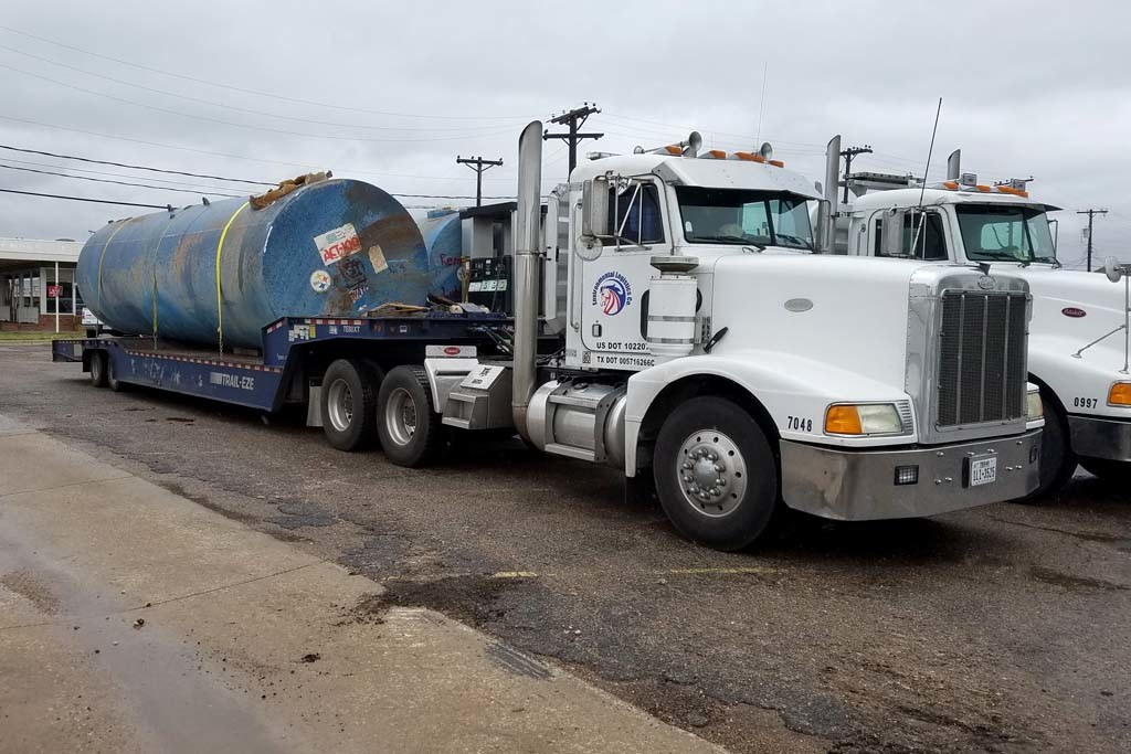 petroleum tank disposal