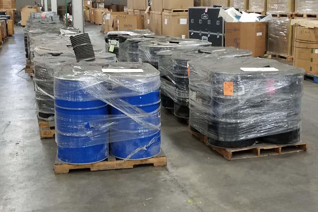 waste barrel disposal