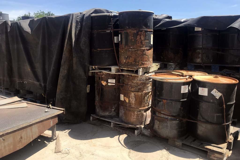 drum disposal